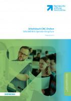 Arbeitsbuch | SINUMERIK ShopTurn Operate